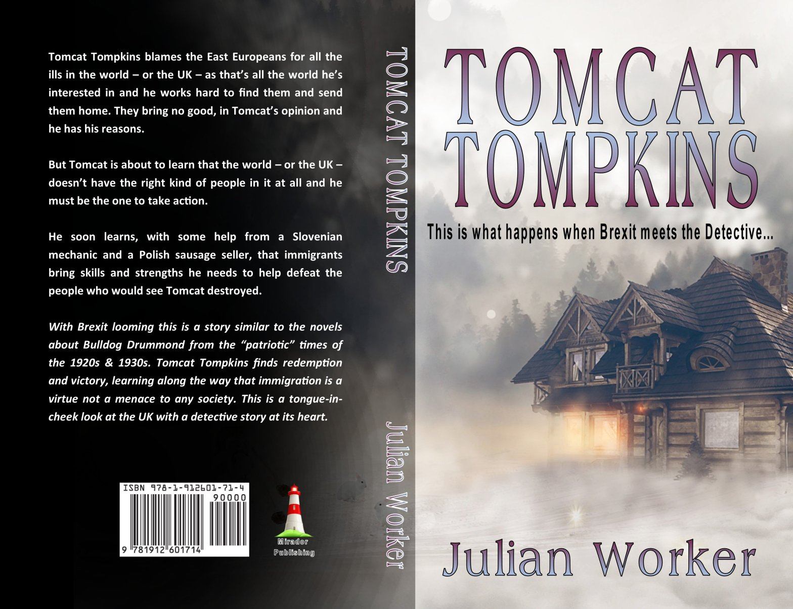 Tomcat Tompkins 23 Julian Worker Fiction Writing